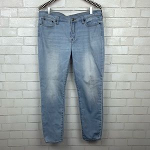 J. Crew Factory Skinny Jean in Faded Wash M2954